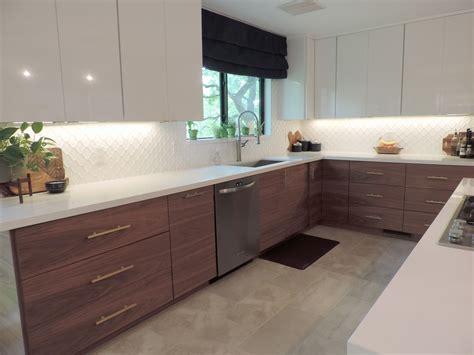 This Mid Century Modern IKEA Kitchen Will Take Your Breath ...