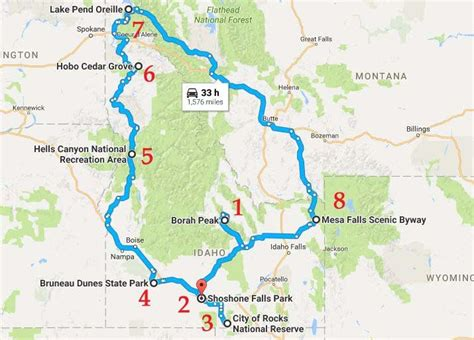 This Natural Wonders Road Trip Will Show You Idaho Like ...