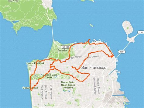 This runner creates intricate works of art with his routes ...