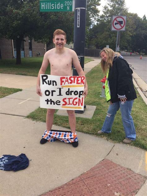 This sign at a marathon.   Funny   Pinterest   Marathons ...