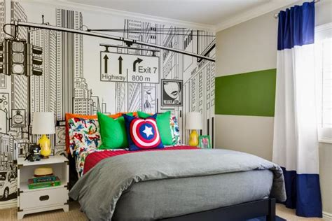 This Superhero Themed Kid s Room Will Knock Your Socks Off ...