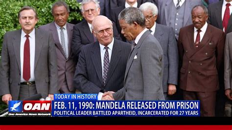This Week in History: Mandela Released from Prison   YouTube