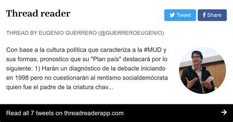 Thread by @GuerreroEugenio:  Con base a la cultura ...