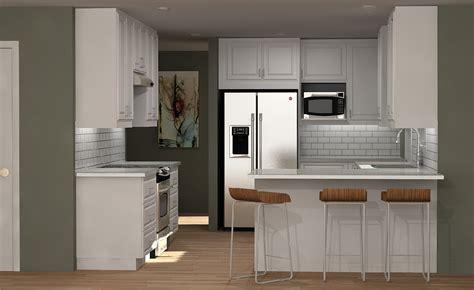 Three IKEA kitchen cabinet designs under $6,000
