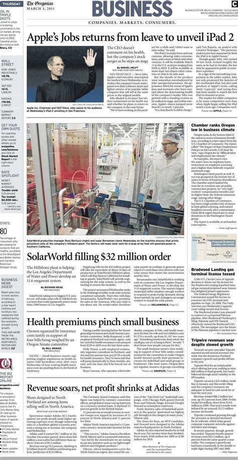 Thursday biz roundup: SolarWorld takes on its biggest ...