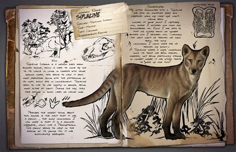 Thylacine   Featured Fanart   ARK   Official Community Forums
