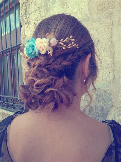 Tiara diadema flores boda   Flores boda, Diademas de ...