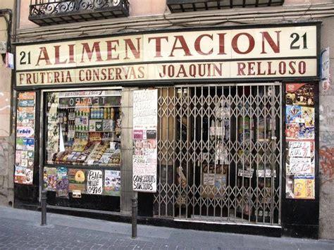 tienda de alimentación antigua | Madrid | Tiendas ...