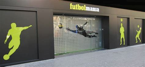 Tienda de fútbol. Futbolmania Barcelona.