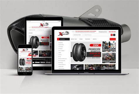 Tienda online de accesorios de motos   Estudio de diseño ...