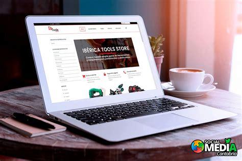 Tienda Online Iberica Tools   Diseño Web en Cantabria