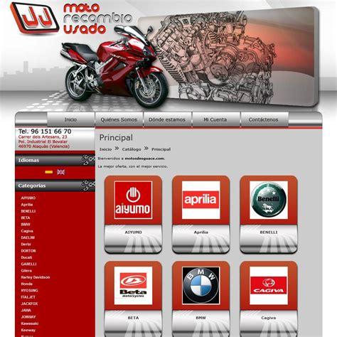 Tienda online realizada para Motos Desguace   Recambios de ...