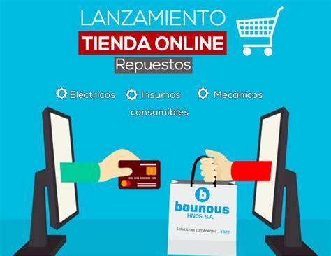 ¡Tienda Online! – Bounous S.A