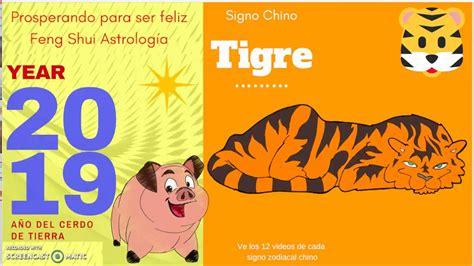 TIGRE AÑO DEL CERDO 2019 2020, #predicciones2019 2020, # ...