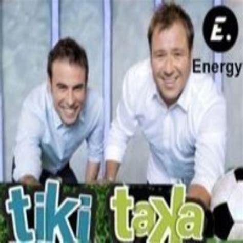 TIKI TAKA  16 Abril 2014  en Energy en La Goleada en 13TV ...