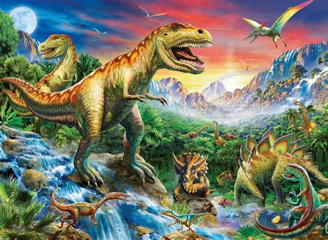 Time of the Dinosaurs 100 PC Ravensburger Jigsaw Puzzle