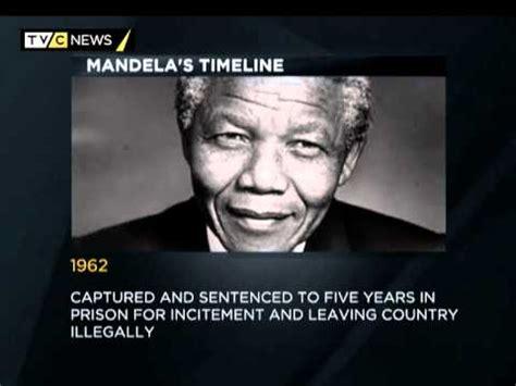 Timeline of Nelson Mandela s life   YouTube