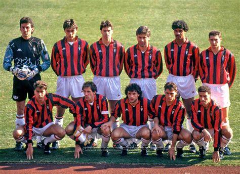 Times memoráveis: Milan 1988 1990   Futebol na Veia