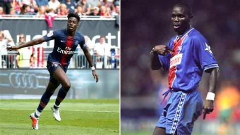 Timothy Weah Scored His First PSG Goal 26 Years After His ...