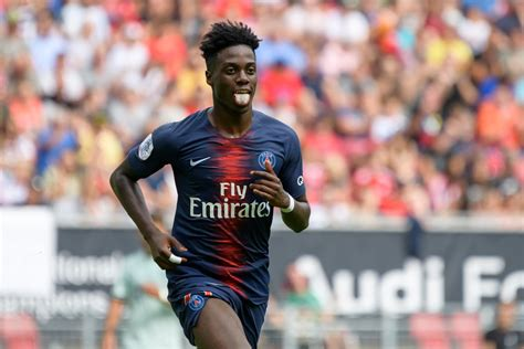 Timothy Weah to Celtic   PSG starlet waves goodbye to ...