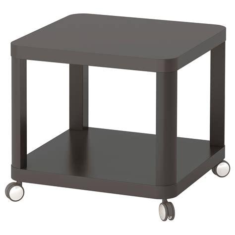 TINGBY Mesa auxiliar con ruedas, gris, 50x50 cm   IKEA