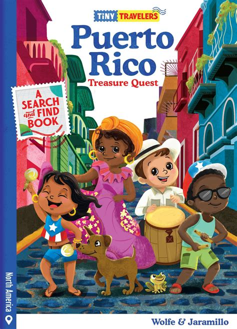 Tiny Travelers: Puerto Rico Treasure Quest  Board book ...