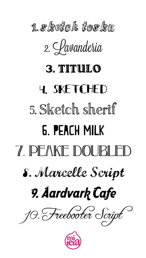 tipografía | miteta