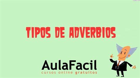 Tipos de Adverbios/El Adverbio/Lengua 2 ESO/AulaFacil.com ...