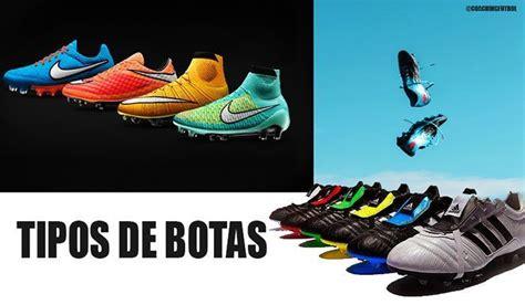 Tipos de botas de futbol | Distribución de tacos | Césped ...