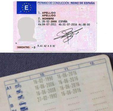 Tipos de carnet de conducir motos en España   Sacar el ...