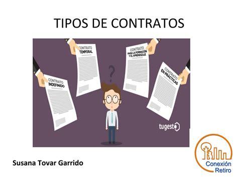 Tipos de contratos by Conexión Retiro   Issuu