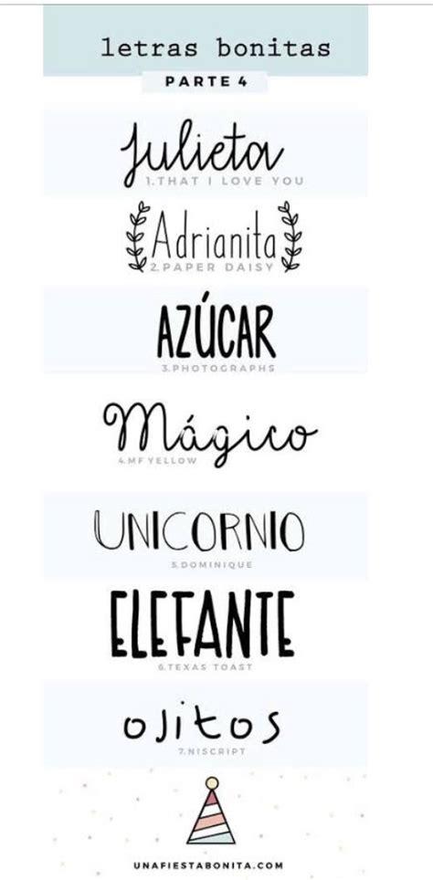 Tipos de creativas y lindas letras.   Notebook decoration ...