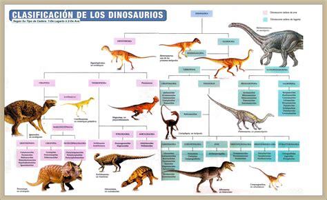 Tipos de Dinosaurios Caracteristicas, Clasificación , Nombres