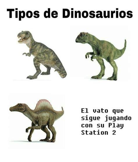 Tipos De Dinosaurios El Uato Que Sigue Jugando COn Su Pla ...