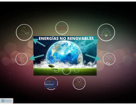 Tipos de Energía No Renovable
