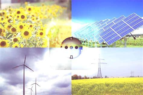 Tipos de Energias Renovables, Resumen   erenovable.com