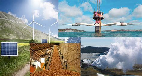 Tipos de energías renovables y sus ventajas   Tiempo del Este