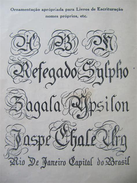 Tipos de Letras   caligrafamarcia