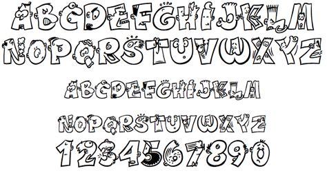 Tipos de letras divertidas   Actiludis