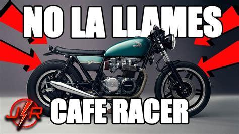 Tipos de motos CAFE RACER    Todos se equivocan SIEMPRE ...