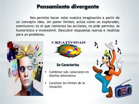 Tipos De Pensamientos   Convergente , Divergente , Lateral ...