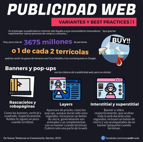 Tipos de publicidad web | Infografía y Casos ...