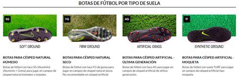 Tipos de suelas de botas de fútbol   Fútbol Emotion