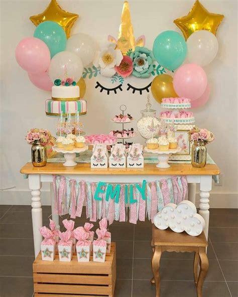 Tips para preparar una fiesta temática de unicornio para ...