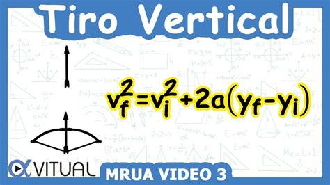 Tiro vertical  MRUA  ejemplo 3 de 8   Física   Vitual ...