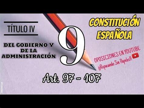 TÍTULO PRELIMINAR DE LA CONSTITUCIÓN ESPAÑOLA DE 1978 ...