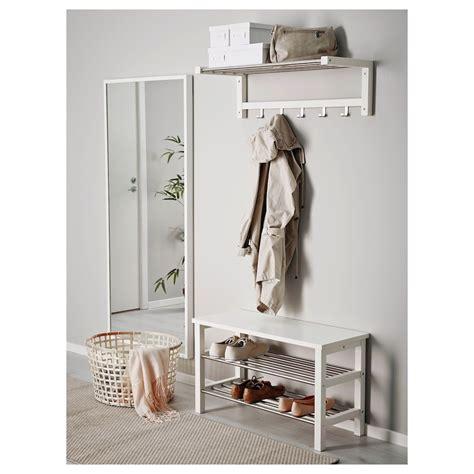 TJUSIG Banco zapatero, blanco, 81x50 cm   IKEA ...