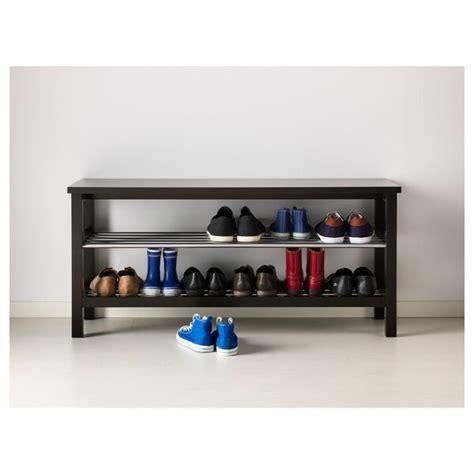TJUSIG Banco zapatero   negro   IKEA