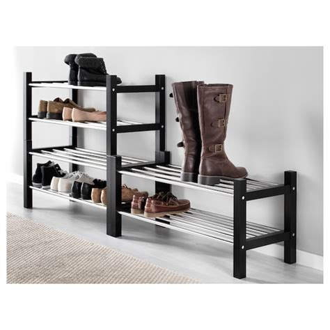 TJUSIG Estante zapatero, negro, 79 cm   IKEA
