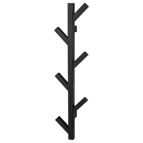 TJUSIG Perchero, negro, 78 cm   IKEA